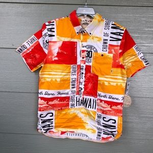 VANS Hawaii North Shore Triple Crown aloha shirt